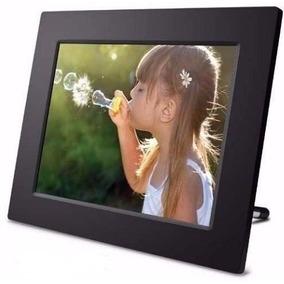 Porta Retrato Digital Tela 12 Lcd Controle Usb Pendrive Top