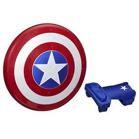 Escudo E Luva Magnéticos Capitão América - Hasbro