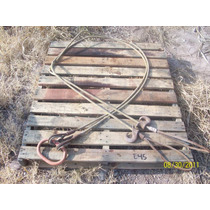Estrobo Doble Cable De Acero 4 X 4 De 1/2 Pulgada