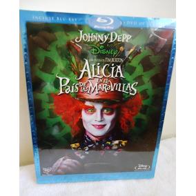 Pelicula Alicia En El Pais De Las Maravillas En Bd + Dvd