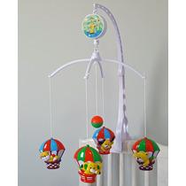 Móbile Giratório Bebê Musical P/berço Turma Do Balãozinhos