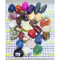 30 Pedras Ametista Jadeita Olho De Tigre Hematita Cod1322