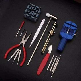 Kit Ferramentas Manutenção E Conserto De Relógio E Celulares