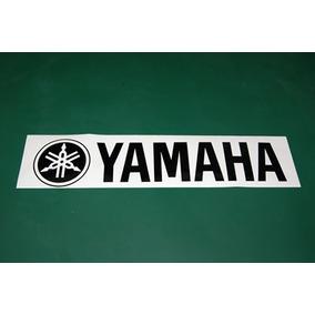 2 Stickers Vinil Yamaha Logotipo Bateria Bombo Parche