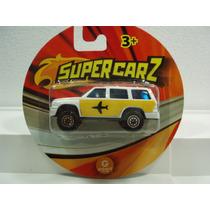 Supercarz Camioneta Durango Taxi Aeropuerto Metal 1/64