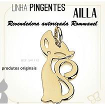 Pingente Gata Charmosa , 3,1 Cm Ouro Rommanel 541112