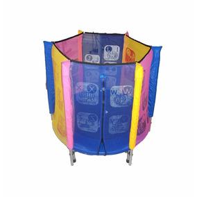 Rede De Proteção Infantil Para Trampolim S/ Mini Trampolim