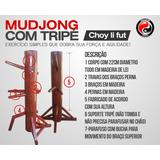 Mudjong Ching Jong Boneco De Madeira Choy Li Fut Sifu Serra