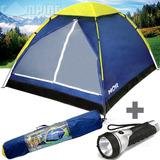 Barraca Camping 3 Pessoas Tipo Iglu Mor Acampamento + Brinde