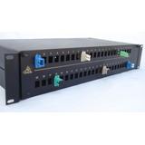 Distribuidor De 48 Fibras Sc/pc Sm Completo Fibra Optica Odf