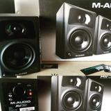 M Audio Av32, Monitores De Estudio Activos, Parlante De 3