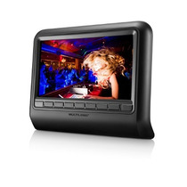 Dvd Player Automotivo Multilaser 9 Pol. Para Encosto De Cab
