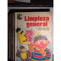 Plaza Sésamo 1er Ed. 1981 Novaro Pasta Dura 7 Libros
