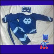 Difraz De Heroes En Pijamas Pj Mask Catboy Gecko T4 Fiesta
