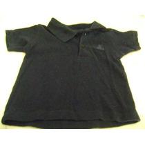 Camisa Tipo Polo Bebe Niño 3-6 Meses Azul Marino Gap