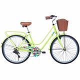 Bicicleta Gama City Avenue Limon -aro 26