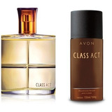 Kit Colônia Class Act Avon + Desodorantes Aerosol Avon
