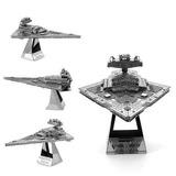 Puzzle Star Wars 3d De Metal / Destructor Estelar