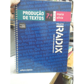 Livro - Projeto Radix Produção, Maria Sílvia 7°