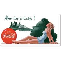 Poster Metalico Anuncio Lamina Coca Cola Retro Vintage