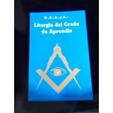 Libro Mason Liturgia De Aprendiz
