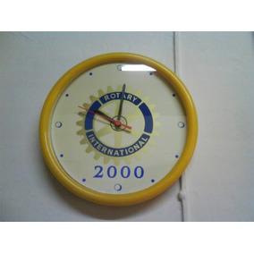 Relog De Pared Conmemorativo Del Año 2000 Rotary Iternationa