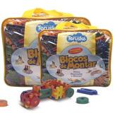 Brinquedo Pedagógico Blocos Como Lego Formando Ideias 500pcs