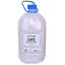 Shampoo Óleo De Argan Lánoly Profissional Galão 5 Litros