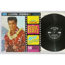 Elvis Blue Hawaii Lp Disco Vinil Importado Japones