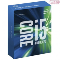 Intel Core I5 Skylake 6600k Lga 1151 Original 64 Bits