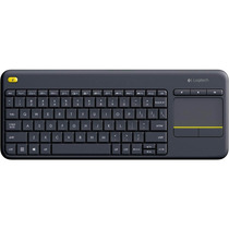 Teclado Usb Preto Wireless Touch Keyboard K400 Plus - Logite