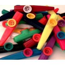 20 Kazoos Plastico