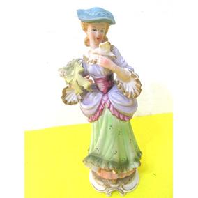 Figura Deco Adorno Tipo Porcelana Capodimonte