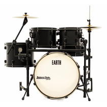 Bateria Rmv Earth Series Completa All Black 20¨,10¨,12¨,14¨