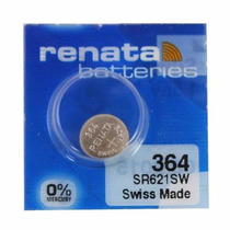 Pilha Bateria 364 Sr621sw Renata Suiça Original Nota Fiscal