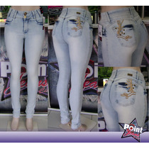 Calça Jeans Feminina Skinny Legging Delavê Ice W.pink Jeans