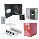 Kit Completo De Control De Acceso Por Huella. Incluye Cable