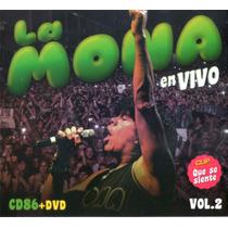 La Mona Jimenez En Vivo Vol 2 Cd+dvd Cd N°86 - Los Chiquibum