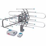 Antena Hdtv Amplificada Control Remoto Tv Hd Voltech 48115