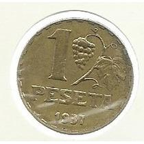 España 1 Peseta 1937 Guerra Civil