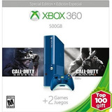 Xbox Gb E Azul Dqo Bo2