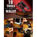 Cartão Multi-ferramentas Use Carteira 18-em-1 Ninja Wallet