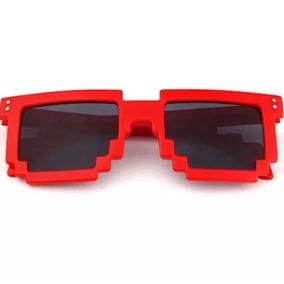 3e4e942b064dc Óculos Thuglife Píxel (branco Brilhante  vermelho Brilhante