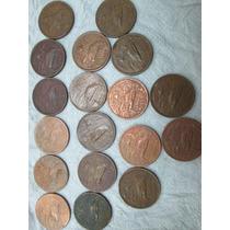 Monedas 20 Centavos 1943 A 1973 Faltan Fechas