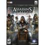 Jogo Computador Lacrado Assassins Creed Syndicate Para Pc
