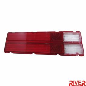 Lente Traseira Ford Corcel 1975 1976 1977 Vermelha