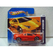 Hot Wheels Lamborghini Reventon Naranja No 79/214 2010