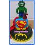 Super Heroes Tortas Decoradas Personalizadas Por Kilo