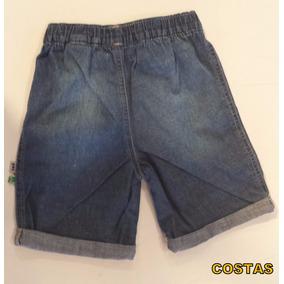 Bermuda Masculina Puc Jeans Bebê