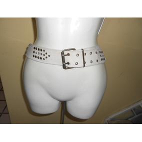 Cinturon Beige Con Estoperoles